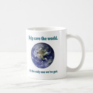 Help save the world Mug