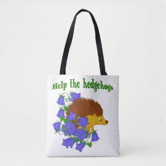 Help the Hedgehogs Tote Bag