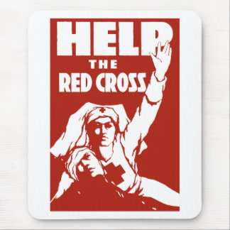 Help The Red Cross Mouse Pad