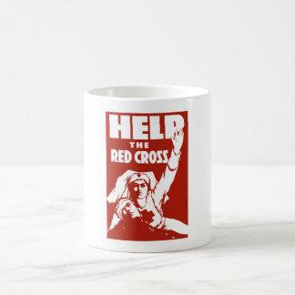 Help The Red Cross Coffee Mugs