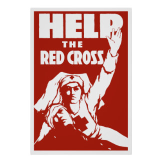 Help The Red Cross Poster