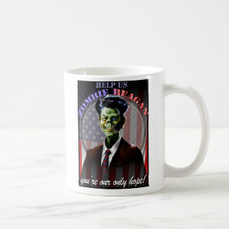 Help Us Zombie Reagan! Coffee Mug