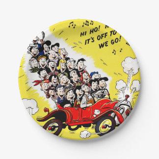 Help Win the War - Carpool 7 Inch Paper Plate