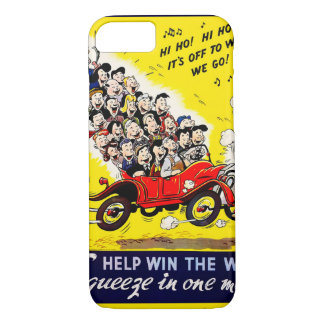 Help Win the War - Carpool iPhone 8/7 Case