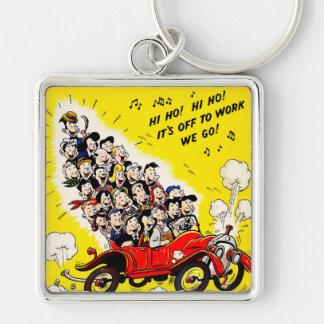 Help Win the War - Carpool Key Ring