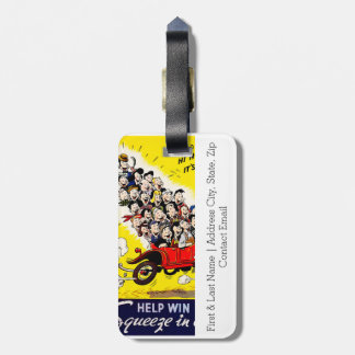 Help Win the War - Carpool Luggage Tag