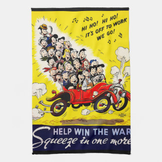 Help Win the War - Carpool Tea Towel