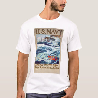 Help Your Country - Enlist in the Navy (US02286B) T-Shirt