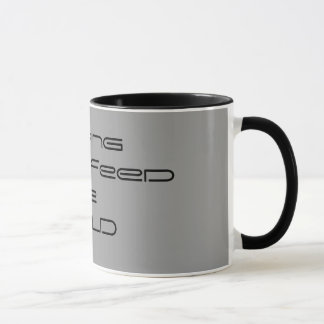 Helping            Feed The WORLD Mug