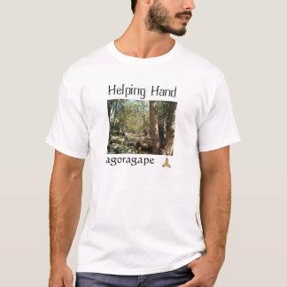 """""""Helping Hand"""" artwear by agoragape T-Shirt"""