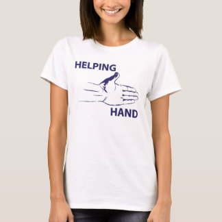 Helping hand. T-Shirt
