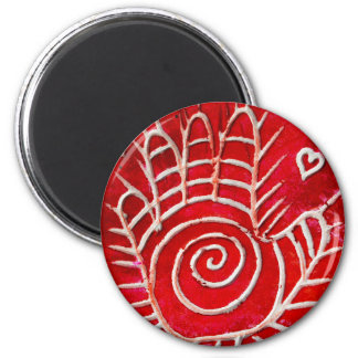 Helping Hands For Haiti 6 Cm Round Magnet