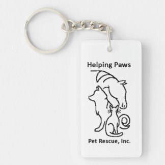 Helping PAWS Key Chain