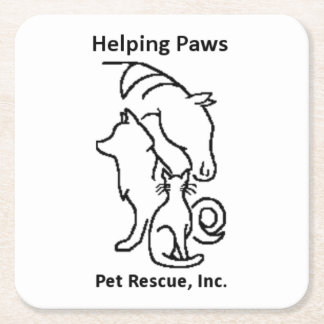 Helping PAWS Pet Rescue coasters