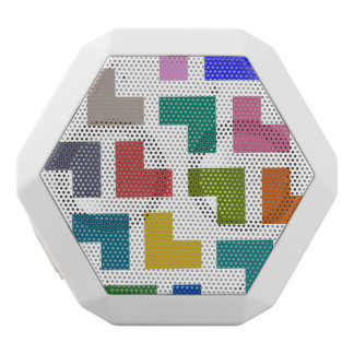Helpy / Custom Boombot REX, White White Bluetooth Speaker