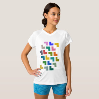 Helpy / Women's Champion Double-Dry V-Neck T-Shirt