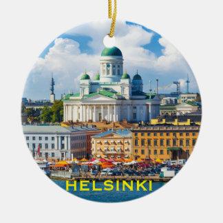 Helsinki Finland Christmas Ornament