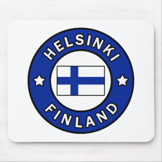 Helsinki Finland Mouse Pad
