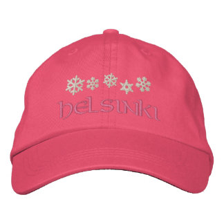 Helsinki Finland Snowflake Hat