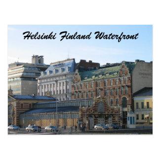 Helsinki Finland Waterfront Post Card