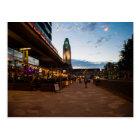 Helsinki Railway Station Clock Tower Postcard