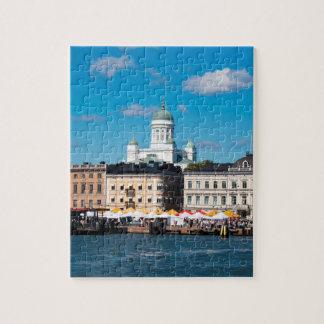 Helsinki Skyline Jigsaw Puzzle