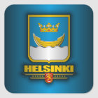 Helsinki Square Sticker