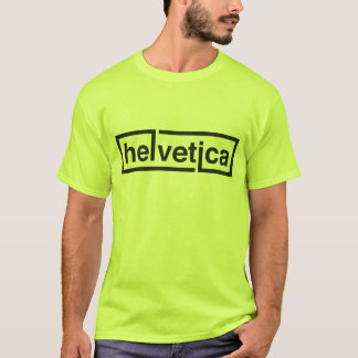Helvetica Artist Shirt! T-Shirt