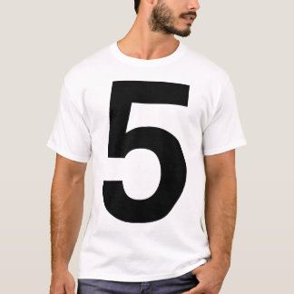 helvetica Five T-Shirt