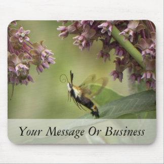 Hemaris Thysbe - Hummingbird Moth Mouse Pad