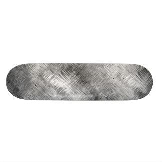 Hematite Grey Scribbled Texture Skate Decks