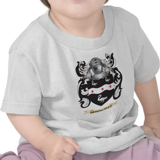 Hemingway Coat of Arms (Family Crest) Tee Shirts