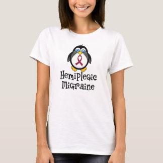 Hemiplegic Migraine Awareness Penguin T-Shirt