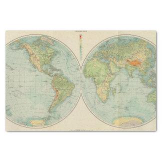 Hemispheres 12 physical tissue paper