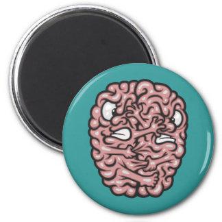 Hemispheres 6 Cm Round Magnet