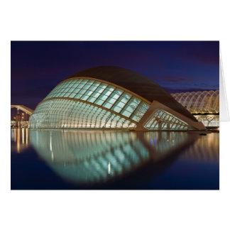 Hemispheric in Valencia Spain Card