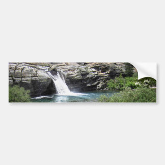 Hemlock Crossing Waterfall - Sierra Bumper Sticker
