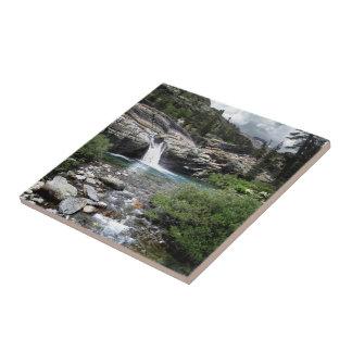 Hemlock Crossing Waterfall - Sierra Ceramic Tile