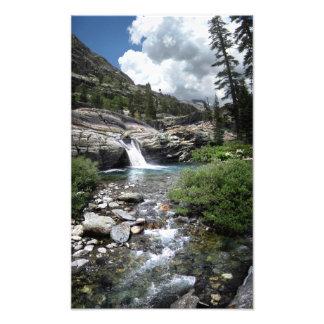 Hemlock Crossing Waterfall - Sierra Photo Print