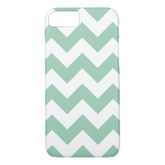 Hemlock Green Chevron Zigzag iPhone 7 Case
