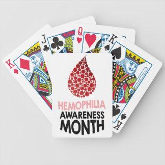 Hemophilia Awareness Month - Appreciation Day Poker Deck