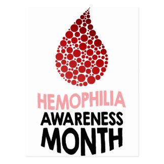 Hemophilia Awareness Month - Appreciation Day Postcard