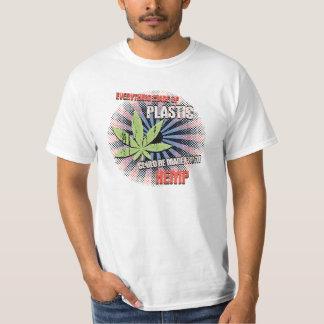 Hemp Plastic Tee Shirt