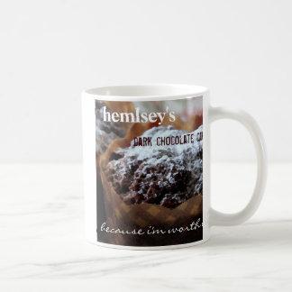 Hemsley's Dark Chocolate Cake Basic White Mug