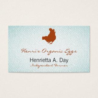 Hen [chicken, farmer, organic eggs] Textured Look