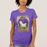 Hen, Chicks and Cross Vintage Easter T-shirt