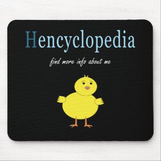 Hen Encyclopedia Mousepads