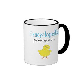 Hen Encyclopedia Coffee Mugs