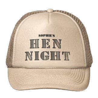 """Hen Night hats - Shiny silver"""""""