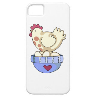 HEN ON BOWL OF EGGS iPhone 5 CASES
